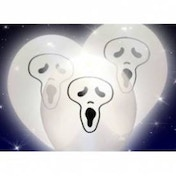 Spookey Light Up Halloween Ghost Balloons