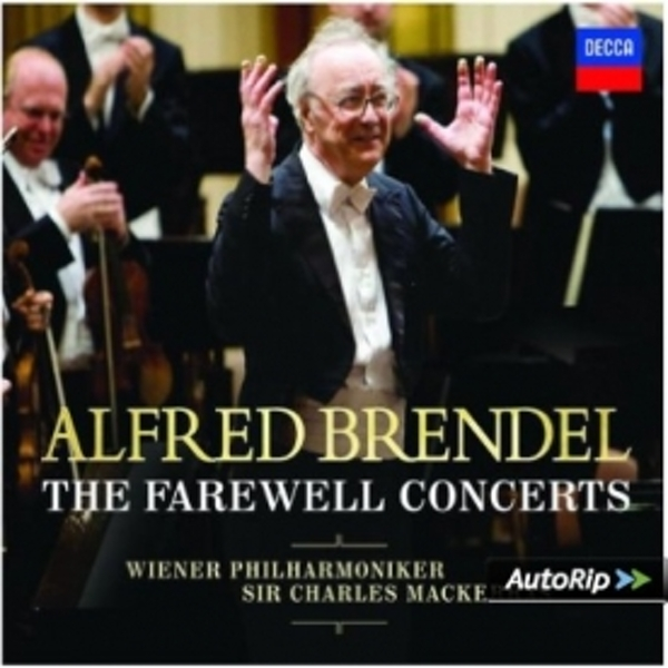 Alfred Brendel The Farewell Concerts CD