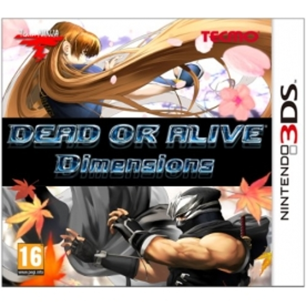 Dead Or Alive Dimensions Game 3DS - Image 1