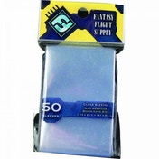 Fantasy Flight Supply Mini US Board Game 50 Sleeves Yellow - 10 Packs