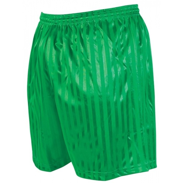 Precision Striped Continental Football Shorts 38-40 inch Green
