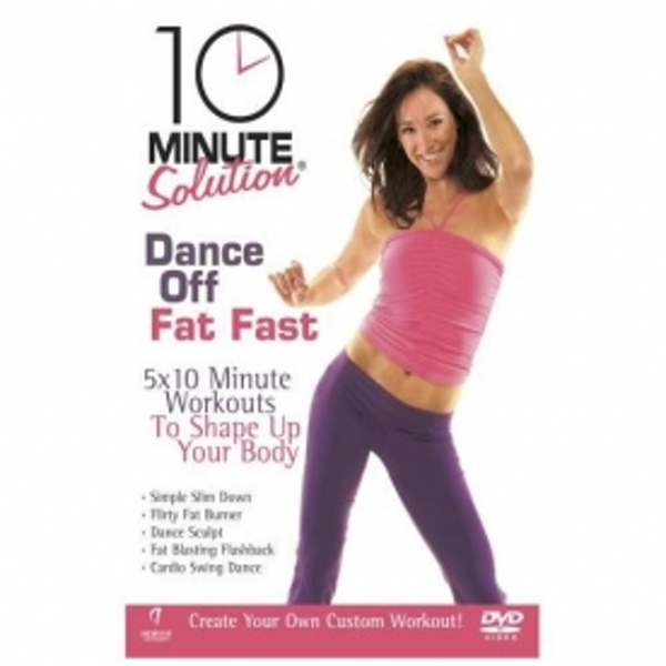 10 Minute Solution Dance Off Fat Fast DVD