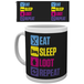 Battle Royale Eat Sleep Repeat Mug - Image 2
