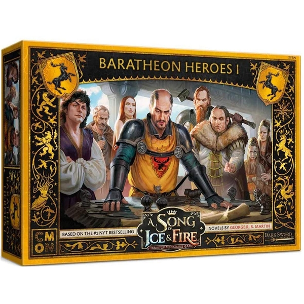 A Song Of Ice and Fire: Baratheon Heroes Box 1 Expansion