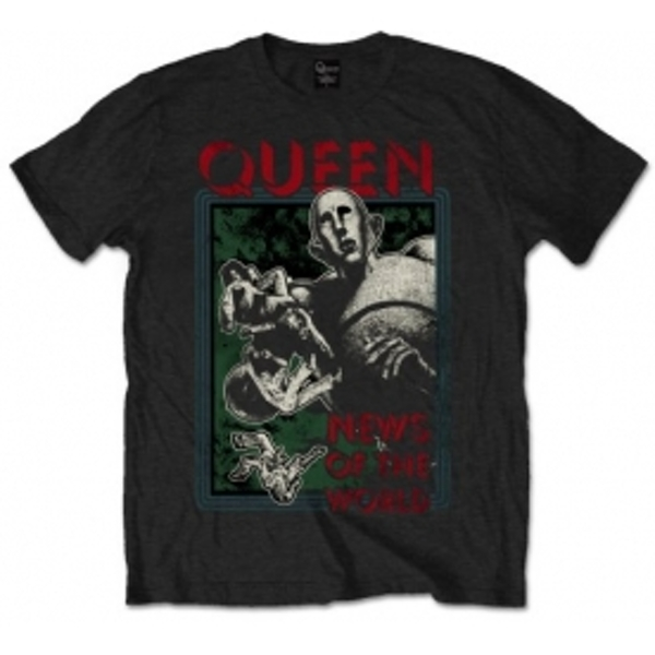 Queen NOTW Black Mens T Shirt: Small