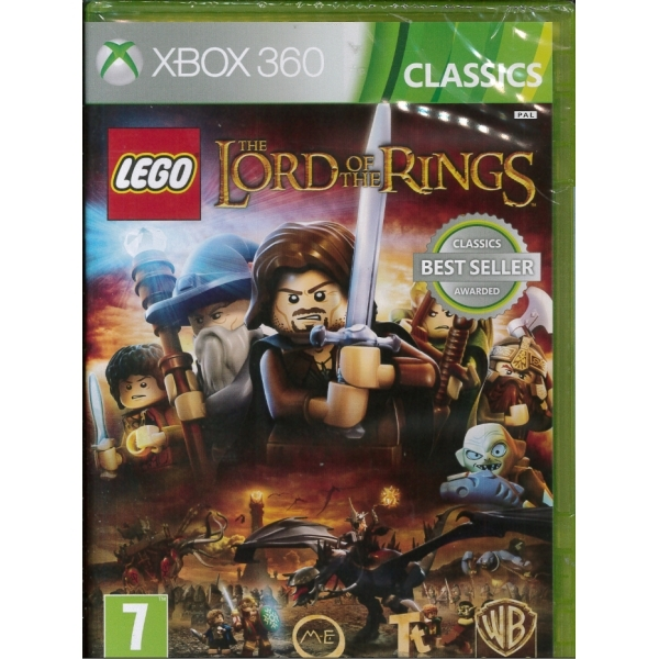 Lego Lord Of The Rings Xbox 360 Game (Classics)