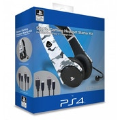 4Gamers Stereo Gaming Headset Starter Kit Arctic Camo PS4