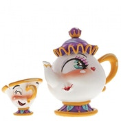 Miss Mindy Mrs Potts & Chips (Beauty And The Beast) Figurine