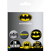 Batman Comics Mix Badge Pack