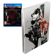 Metal Gear Solid V The Phantom Pain Day One Steelbook Edition PS4 Game