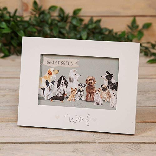 """6"""" x 4"""" - Best of Breed Wooden Frame - Dog"""