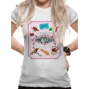 Harry Potter - Honeydukes Women's Small T-Shirt - White