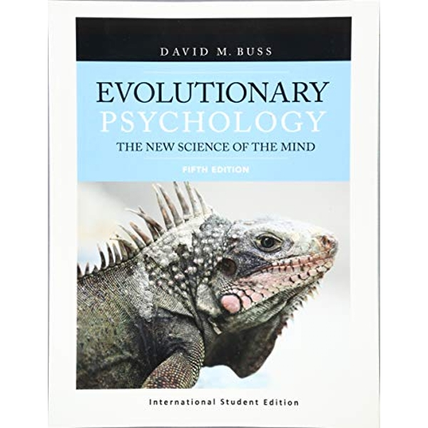 Evolutionary Psychology: The New Science of the Mind (International Student Edition) by David Buss (Paperback, 2017)