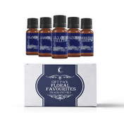 Mystic Moments Floral Favourites Fragrant Oils Gift Starter Pack