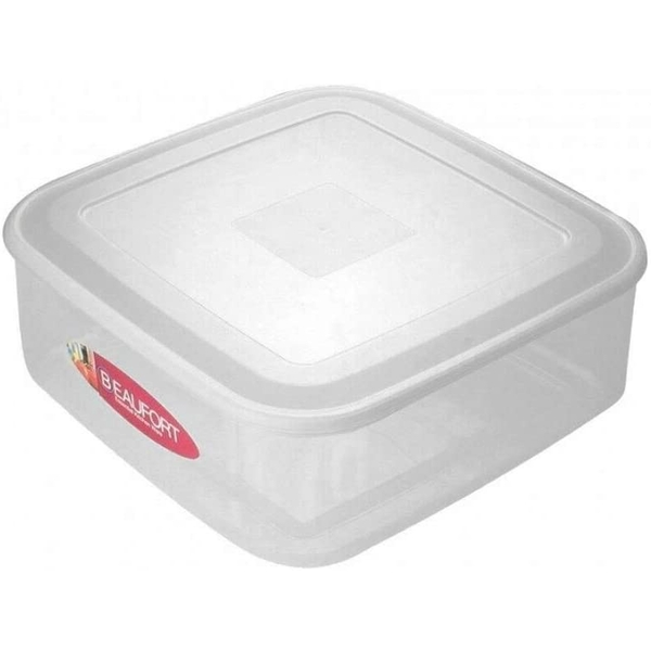 Beaufort 7 Litre Square Cake Box Container with Lid