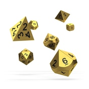 Oakie Doakie Dice RPG Set (Metal Aurym)