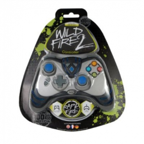 Datel Wildfire 2 Wired Controller In Black Xbox 360