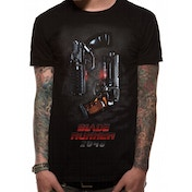 Blade Runner 2049 - Two Pistols Men's X-Large T-Shirt - Black