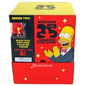 Heroclix The Simpsons 25th Anniversary Season 2 Gravity Feed Case of 24