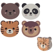 Cute Animals Design Set of 4 Novelty Coasters
