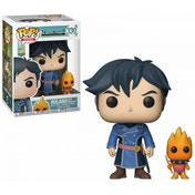 Ex-Display Roland with Higgledy (Ni No Kuni) Funko Pop! Vinyl Figure Used - Like New