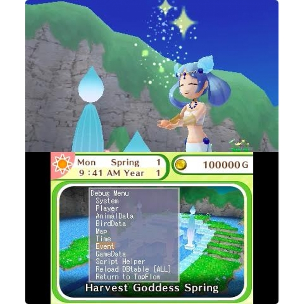 Harvest Moon Skytree Village 3DS Game - Image 3