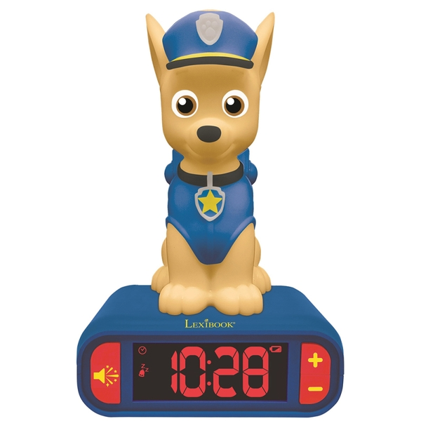 Lexibook RL800PA  Paw Patrol Night Light Radio Alarm Clock