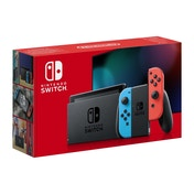 Nintendo Switch Console Neon Blue / Neon Red Joy-Con Controllers