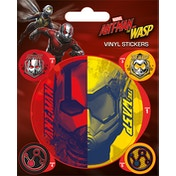 Ant-Man and The Wasp - Split Vinyl Sticker