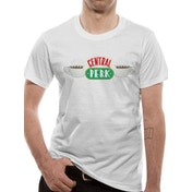 Friends - Central Perk Men's X-Large T-Shirt - White