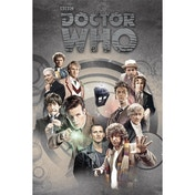 Doctor Who Doctors Through The Time Maxi Poster
