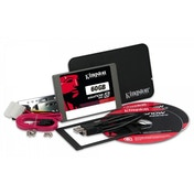 Kingston Technology SV300S3B7A/60G 60GB Solid State Drive 2.5 inch V300 SATA 3 Upgrade Bundle Kit with Adapter
