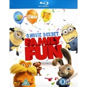 Hop / Despicable Me / Dr. Seuss' The Lorax Blu-ray