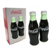 Coca Cola Ceramic Salt & Pepper Shakers