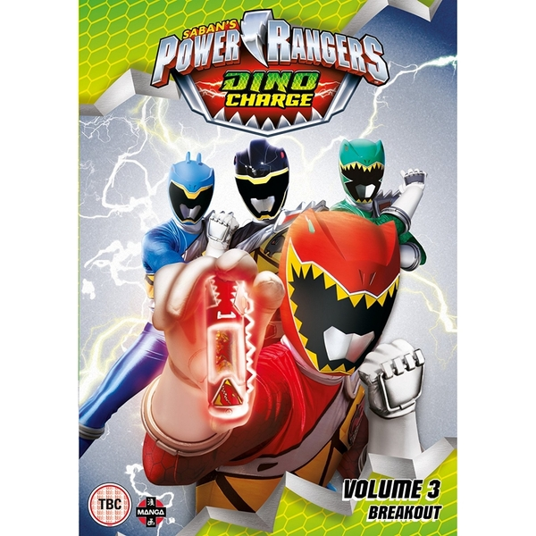 Power Rangers Dino Charge: Breakout (Volume 3) Episodes 9-12 DVD