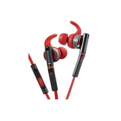 Kenwood KH-SR800-R-E In-Ear Waterproof Headphones inc Remote & Mic Red