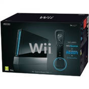 Console System in BLACK (with Wii Sports) & Sport Resort Game with Motion Plus Wii