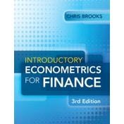 Introductory Econometrics for Finance by Chris Brooks (Paperback, 2014)