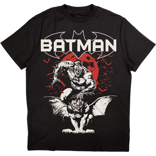 DC Comics - Batman Gargoyle Unisex Small T-Shirt - Black