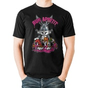 Looney Tunes - Bun Appetit Men's X-Large T-shirt - Black