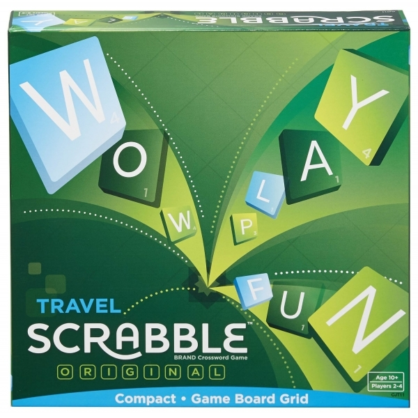 Scrabble Travel Board Game - Image 1