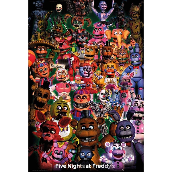 Five Nights at Freddys Ultimate Group Poster