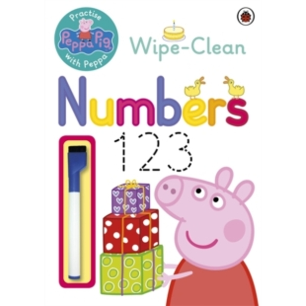 Peppa Pig: Practise with Peppa: Wipe-Clean Numbers by Penguin Books Ltd (Paperback, 2014)