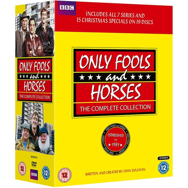 Only Fools And Horses Complete Collection + Christmas Specials DVD
