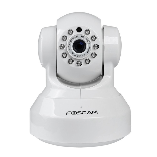 Foscam FI9816P 720P HD Wireless IP Camera with Night Vision - White