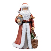 Santa with Gifts Ornament