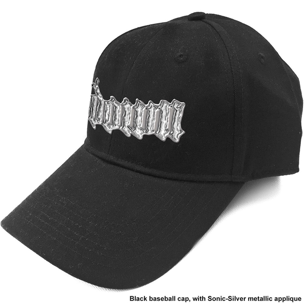 Down - Sonic Silver Logo Men's Baseball Cap - Black