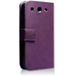 YouSave Accessories LG Optimus G Pro Leather-Effect Wallet Case - Purple - Image 2