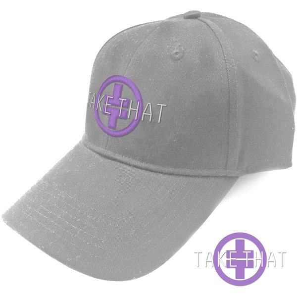 Take That - Logo Men's Baseball Cap - Grey