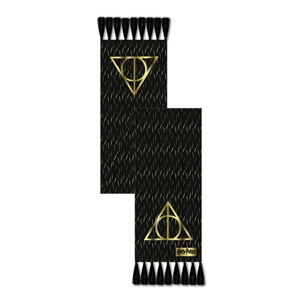 Harry Potter - Hallows Scarf Unisex - Black
